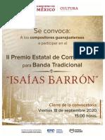 Premio Estatal de Composición Isaías Barrón