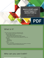 mayo-portland adaptability inventory-4