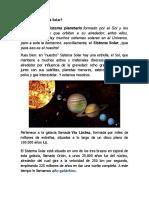 Qué es el Sistema Solar