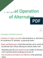 Parallel Operation of Alternator.pptx