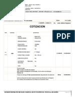 Cotizacion RESPIRADOR Adrian Sequiera Argentina