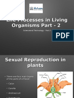 Life Processes in Living Organisms Part - 2  -1