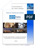 Proyectos Claims marzo 2016