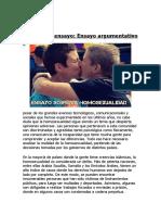 ensayo de la homosexualidad.docx