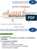 Management Stratégique-Chapitre1