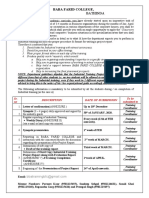 6th semester industrial training guidelines