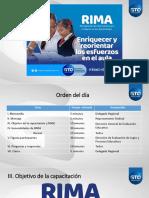presentacion RIMA  CAPACITACION MANUAL OPERATIVO