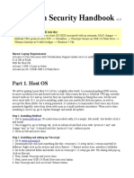 Operation Security Handbook 1 0