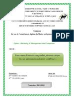 Lancement d'un nouveau produit pharmaceutique Cas de laboratoire industriel « SAIDAL » .pdf