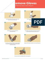 CDC Poster How to Remove Gloves