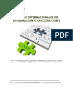 Normas Internacionales de Información financiera NIIF. 2018