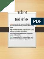 Factores resilientes