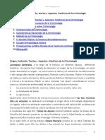 La Criminología Dominicana