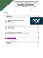 INSTRUCTIVO INTEGRAL PARA ELABORACIÓN Y CONTROL DE LA DOCUMENTACION TECNICA Y DE PROYECTOS