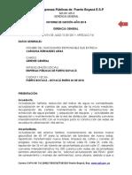INFORME DE GESTION 2018 EMPRESAS PUBLICAS DE SERVICIOS