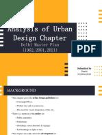 Urban Design- Smriti