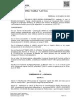 Decreto 490 Aportes del Tesoro Nacional