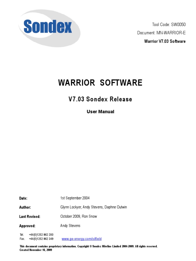 Sondex driver download