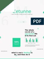 Zetunne - Powerpoint Template