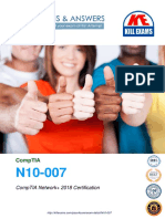 2020 Updated N10-007 Real Exam Questions and Answers
