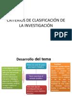 7.- Criterios de clasificación de la investigación y técnicas.pptx