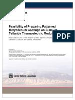 Feasibility of Preparing Patterned Mo Coatings - Thermal Spray.pdf