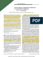 2012 Comai. Revisión 1. the psychopharmacology of aggressive behavior. parte 1.pdf