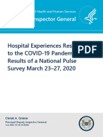 Hospital Experiences Responding to the COVID-19 Pandemic