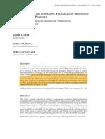 Lindh, Fábrega y González- La fragilidad de los consensos. Polarización ideológica en el Chile post Pinochet
