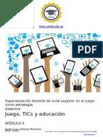MODULO4-Juego, TICs y Educación