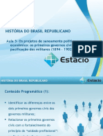 Aula_03 Historia do Brasil Republicano