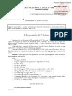 2020 27 Marzo Guardia Costiera Ausiliaria Protezione Civile Bruno Francesco Maggiore Croce Antonio Determinazione n. 208 Del 27-03-2020 Iban It10v0312743391000000090756