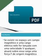 FORÇA MAGNÉTICA2