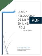 CASO PRÁCTICO DD107-RDL