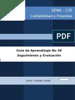 GUIA DE APRENDIZAJE No 36