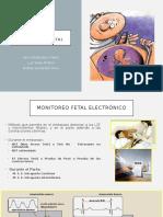 Monitorizacion Electronica Fetal