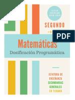 Dosificacion Matematicas Segundo Grado (Programa 2011)