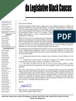State Sen. Bobby Powell - Letter to Gov. DeSantis