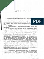 Gino Germani (V) Sociología latinoamericana