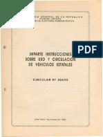 circular35593_95 distintivo vehiculos fiscales