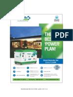 Portable Gensets Leaflet