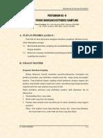 PERTEMUAN KE-8_ DISTRIBUSI SAMPLING.pdf