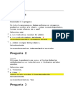 EVALUACIONES ADMON PROCESOS II