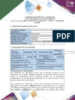 Guía de actividades y rúbrica de evaluación - Paso 1 - Actividad Inicial (1)