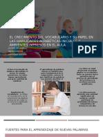 Presentación estrategias de alfabetismo emergente