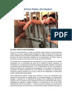 Justicia Penal en Pausa - Sophia Icaza Izquierdo