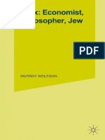 Murray Wolfson (auth.) - Marx_ Economist, Philosopher, Jew_ Steps in the Development of a Doctrine (1982, Palgrave Macmillan UK).pdf