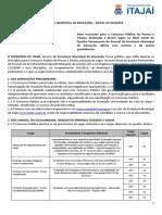 Edital nº 050-2019 - Concurso Público Educação Itajaí - Professores e Intérpretes (1).pdf