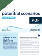 COVID-19 Potential Scenarios