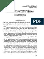 Cea Egaña, José Luis - Sobre las constituciones (extracto)